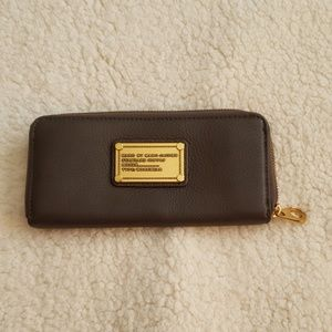 Marc by Marc Jacob's leather wallet.